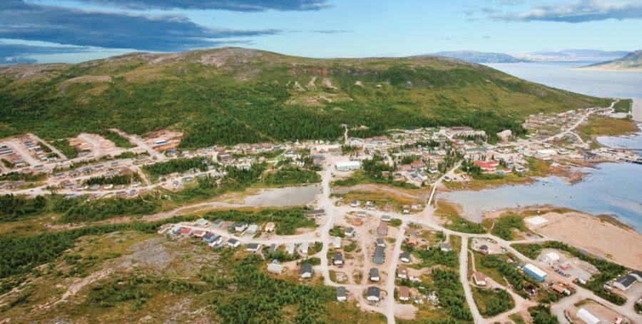 самые удаленные города канады
