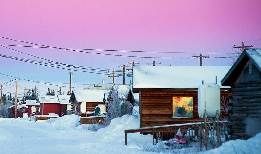 канада удаленные деревни