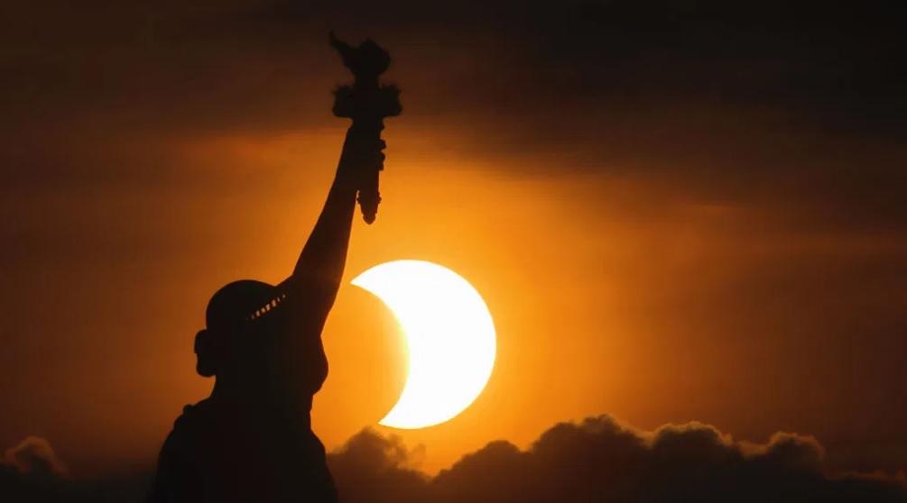солнечное затмение 10 июня